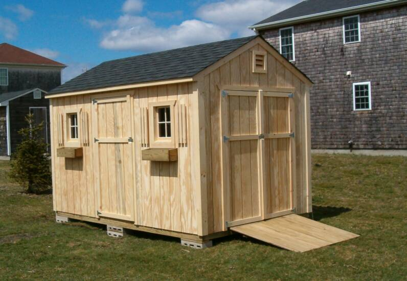 Gable End Shed