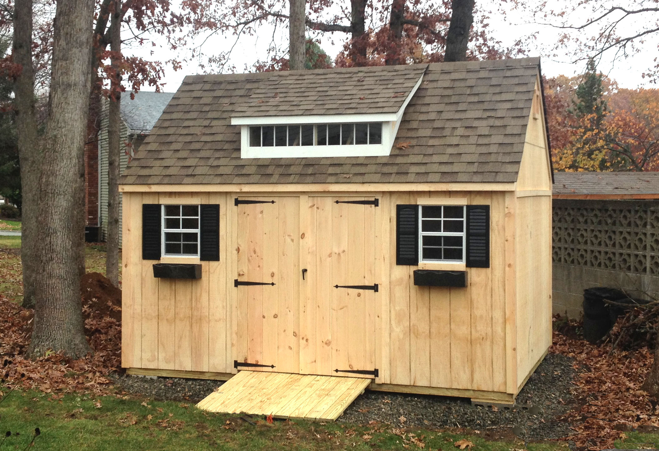 Steep Gable Shed